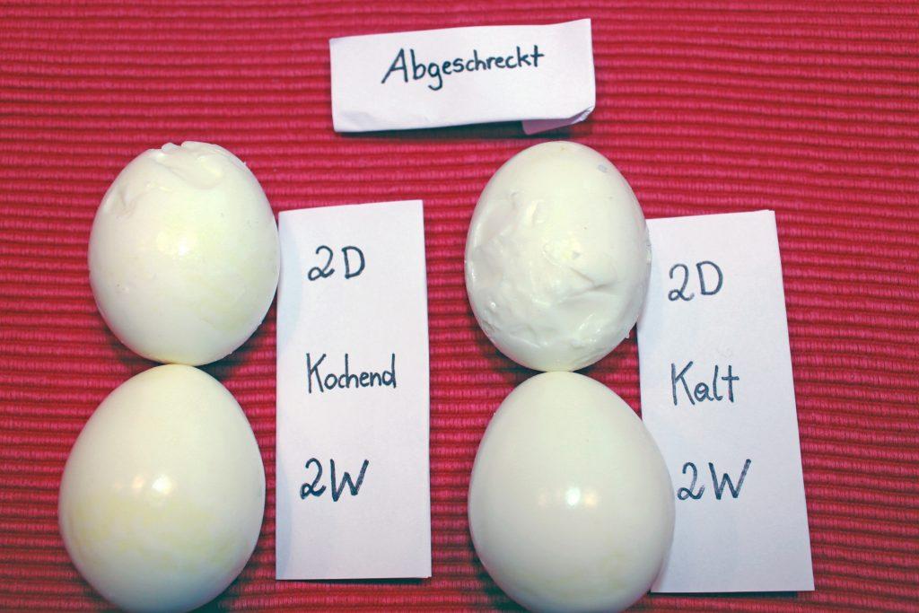 geschälte Eier (abgeschreckt)