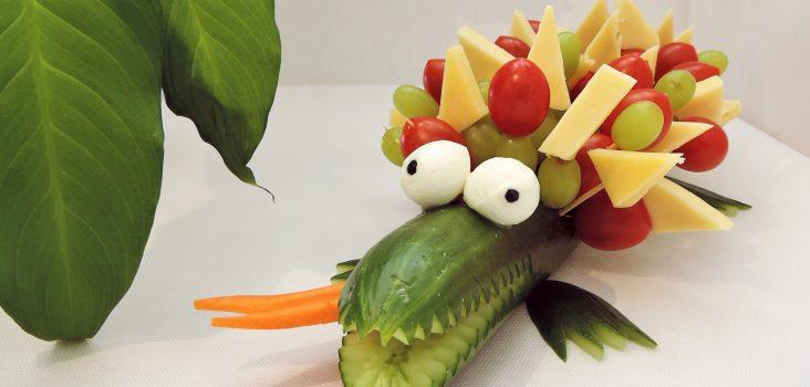 Gemüsekrokodil