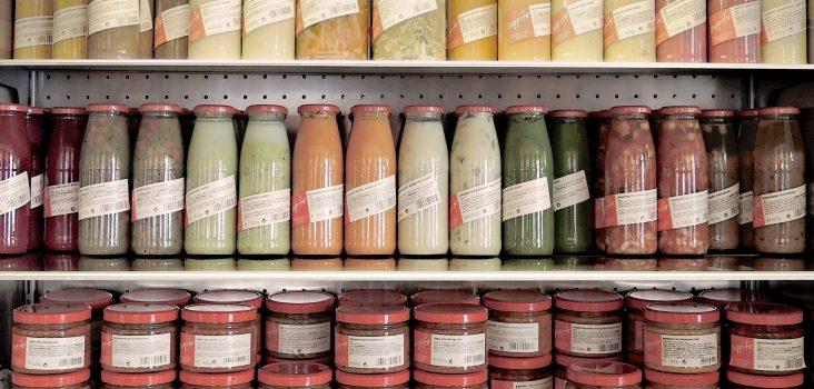 Suppito Produkte im Kühlregal