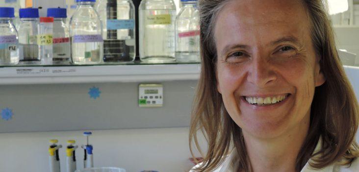 Allergieforscherin Ines Swoboda in ihrem Labor