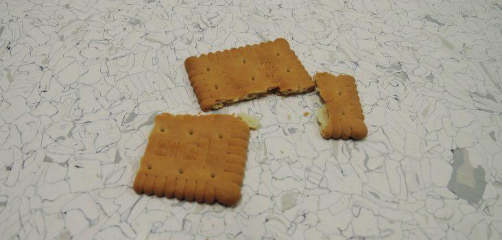 Kekse am Boden