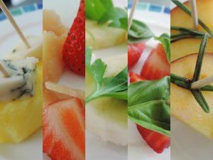 Erdbeer Basilikum