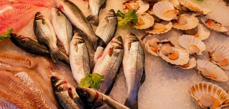 Fisch-Stand am Markt