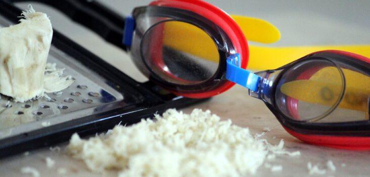 Geriebener Kren ist scharf, gilt aber als natürliches Antibiotikum